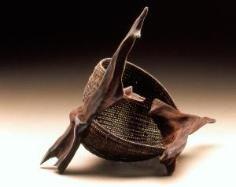 'UNTITLED' sculptural basket / Deborah Smith