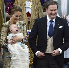 The baptism of Prince Nicolas of Sweden, 11 October 2015 ~