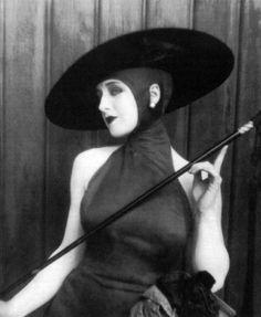 Norma Shearer, Pretty Ladies, 1925 (wardrobe Ethel P. Chaffin)