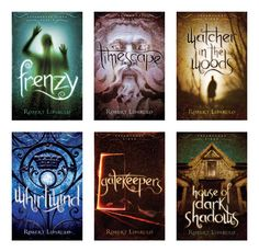 I received the first in this series in a book giveaway... I was hooked.  I think I read all six books in about two weeks.  I've since recommended them to many of my students.  If you like fantasy and time travel, these are worth checking out.