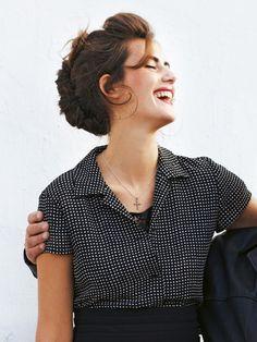 Schnittmuster: Bluse - gerader Schnitt - Blusen - Blusen & Tuniken - Damen - burda style