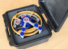 "3D Printed Working Co-Axial Tourbillon 1000% By Nicholas Manousos Hands-On - See it in motion and learn more on aBlogtoWatch.com ""US-based watchmaker Nicholas Manousos has developed the world's first 3D printed tourbillon. Named the Tourbillon 1000%, you can order one to own, and it is part of a larger movement project that Mr. Manousos has been working on for the last few years. Sooner than later, 3D printing technology will be able to produce fully functioning clocks and watches..."""