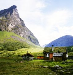 Norway. This what I imagine when I think about my Grandma's house in Bardo Norway (above the Arctic Circle).