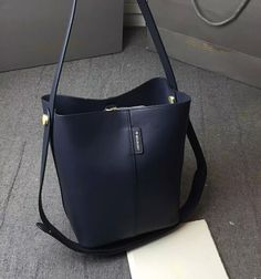 2016 SS Mulberry Small Kite Tote in midnight blue calf leather