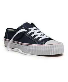 Take a look at this Navy Center Lo Sneaker - Adults by PF Flyers on #zulily today! $30 !!
