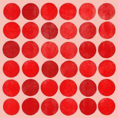 Colorplay Red - Art Print by Garima Dhawan/Society6