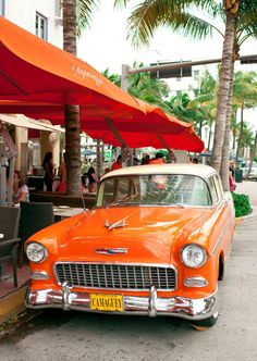 Rolling in style: South Beach Miami  via: Bon Appetit great new places to eat in Miami