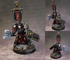 capitaine terminator deathwatch (comission for work)