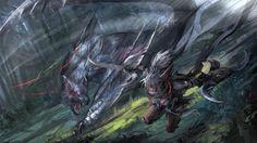 Fanart gallery - Album on Imgur Monster Hunter Rathalos, Monster Hunter Series, Monster Hunter World, Love Monster, Monster Design, Monster Drawing, Fantasy Background, Dragon Warrior, Shadow Dragon