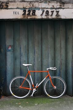 VINTAGE BICYCLE - FALCON - BRIGHT ORANGE
