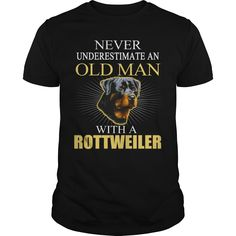 OLD MAN WITH A ROTTWEILER Order HERE ==> https://www.sunfrog.com/Funny/OLD-MAN-WITH-A-ROTTWEILER-188272027-Black-Guys.html?41088 Please tag & share with your friends who would love it  #xmasgifts #renegadelife #superbowl