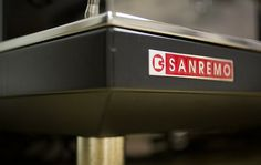 Part of the Sanremo coffee machine range