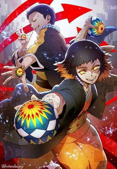 Kimetsu no Yaiba (Demon Slayer) Image - Zerochan Anime Image Board Otaku Anime, Manga Anime, Art Anime, Fanarts Anime, Anime Demon, Anime Characters, Demon Slayer, Slayer Anime, O Pokemon