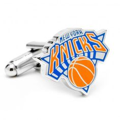 Officially licensed New York Knicks Cufflinks by NBA. Available at www.CUFFZ.com.au