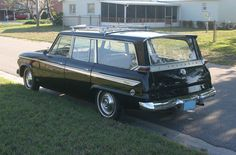 1963 Studebaker Wagonaire: I would look so AWESOME driving one of these!
