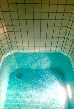Our plunge pool is a guaranteed way of becoming invigorated and rejuvenated #DevonshireArms #spa #Yorkshire #plungepool #rejuvenate #fresh #blue #pool #Dales #NorthYorkshire