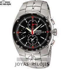 ⬆️😍✅ Seiko SNA451 😍⬆️✅ Increíble Modelo perteneciente a la Colección de RELOJES SEIKO ➡️ PRECIO  € Disponible en 😍 https://www.joyasyrelojesonline.es/producto/seiko-sna451-reloj-para-hombres-correa-de-acero-inoxidable/ 😍 ¡¡Edición limitada!! #Relojes #RelojesSeiko #Seiko