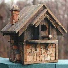 Another great looking birdhouse.