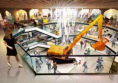 domEXPO Opole - ekspozycja w atrium nawy głównej  http://www.domexpo.com/pl/opole