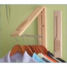 handy gadget to hang clothes on to dry in Laundry room, quick place for guest to hang their clothes if no available closet, place in hallway for guest jackets