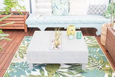 DIY – planted lounge table for the balcony ! Ikea Chest Of Drawers, Garden Loungers, Colorful Garden, New Week, Window Sill, Flower Boxes, Crafts To Make, Wood Crafts, Succulents