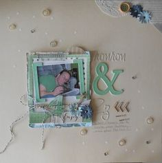 Créations coup de coeur 2013  - Création de Helene Scrapbooking, Coups, 2013, Frame, Art, Home Decor, Homemade Home Decor, Scrapbooks, A Frame