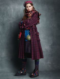 UK Vogue April 2013: Great Scots by Scott Trindle
