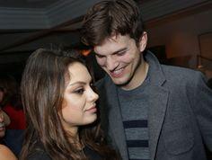 Kunis und Kutcher: Verliebt auf Überraschungsparty