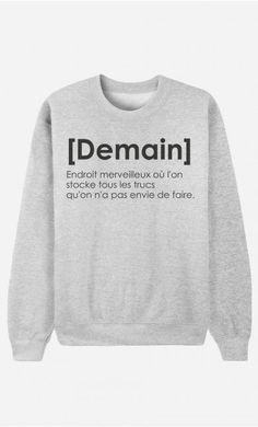 Sweat Femme OG Air Max doux et confortable - Wooop Sweat Shirt, Tee Shirts, Sweat Gris, Mode Shop, Teen Fashion, Womens Fashion, Mode Outfits, Mode Inspiration, Fashion Inspiration