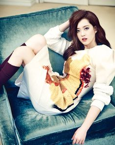 Go Ara Vogue Girl Korea Magazine October Issue '13