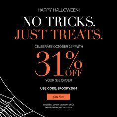 Happy Halloween from Misty The Avon Lady!!! 31% off on all order!! Shop online @ (www.youravon.com/my1724) or click on the PIN for all the great savings at #Avon!!