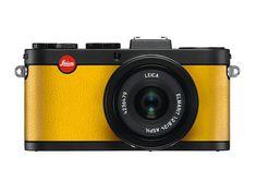 Leica X2 schwarz zitronengelb