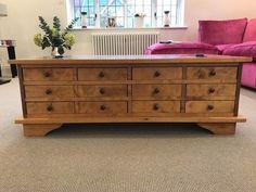 Laura Ashley Garrat Chestnut 12 Drawer Coffee Table QA3011173059