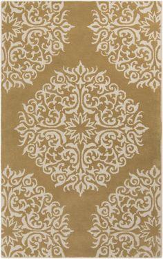Surya Collection: Centennial Item: CNT-1093 Content: 100% wool Color: Beige & Mocha
