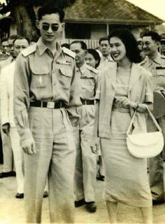 The King Rama lX and Queen of Thailand l #thailand #king #kingRamaIX #queen #queenofthailand