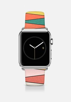 2ff8a5b4ec8 CASETiFY Apple Watch Band Case - Lines of colors apple band by Yasmina  Baggili