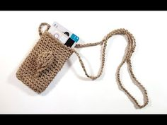 Crochet Tote, Tote Bag, Knitting, Crafts, Crochet Phone Cases, Wallet, Mantle, Tutorials, Totes