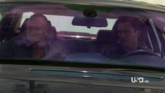 "Burn Notice 4x12 ""Guilty as Charged"" - Michael Westen (Jeffrey Donovan) & Dale Lawson (Michael Rooker)"