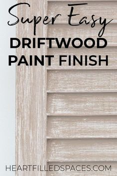 Driftwood Furniture, Painted Driftwood, Chalk Paint Furniture, How To Whitewash Furniture, Chalk Paint Desk, Reclaimed Furniture, Whitewash Wood, Wood Stain, Industrial Furniture