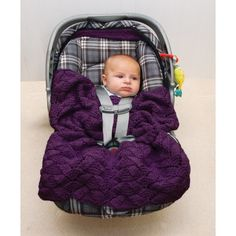 My favorite source for arts and crafts: Free Easy Car Seat Knit Pattern