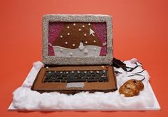 Gingerbread Computer | Community Post: 8 Foods Shaped Like Technology