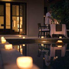 Perfect evening for two.    For more home ideas: www.residentialattitudes.com.au/my-portfolio/images