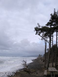 I love the ocean on a stormy day.. this is north oregon coast..i miss it.