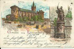 Postkarte Gruss aus Königsberg vom 23.6.1899!!