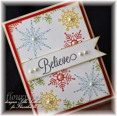 Hi all -- time for day two of Flourishes fabulous sneak peeks for October ! Today, it's all about the whimsy of those winter mon. Snowflake Cards, Christmas Snowflakes, Christmas Cards To Make, Christmas Crafts, Christmas Ideas, Card Tags, Gift Tags, Crafts To Do, Paper Crafts