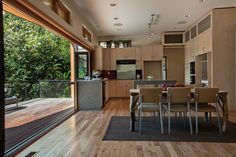 Seattle Kitchen - All - Gallery | NanaWall - Operable Glass Wall Systems