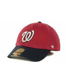 a36411aedf6  47 Brand Washington Nationals  47 Franchise Cap - Red Navy L.