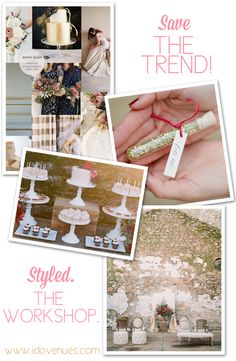 Save the Trend! Styled. The Workshop by One True Love Vintage Rental's @Amanda Snelson o'shannessy at Kohl Mansion & Blu Bungalow: http://www.idovenues.com/wedding-venues/northern-callifornia/save-the-trend-one-true-love-vintage-rental-workshop-bay-area-wedding-events/