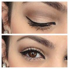 Satin Eye Makeup For Brown Eyes Everyday