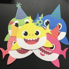 adb07ff919b0 Baby Shark Goody Bags IG     houseofpeacecreations FB House Of Peace  Creations Etsy